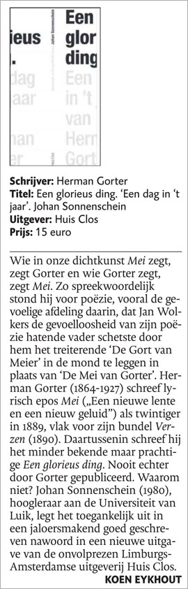Dagblad de Limburger over Gorter