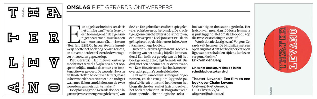 Volkskrant over Levano